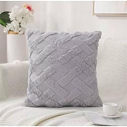 Γκρι Μαξιλαράκι καναπέ με γέμισμα 45Χ45 cm AM-852-11