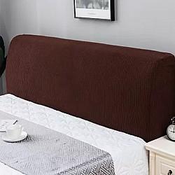 Αδιάβροχο Ελαστικό Κάλλυμα καφέ Για κεφαλάρι κρεβατιού 65Χ120cm LPBR120