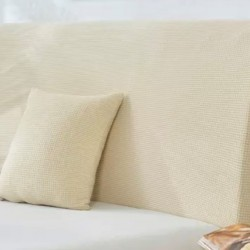 Αδιάβροχο Ελαστικό Κάλλυμα εκρού Για κεφαλάρι κρεβατιού 65Χ120cm LPEC120
