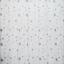 Kids Stars Navy - Κουρτίνα Τούλι Με Κρίκο 260Χ280cm A418-18