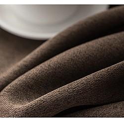 Town Chocolate Brown - Κουρτίνα Σκίασης Ζακάρ 280Χ300cm Με Τρέσα 452-4