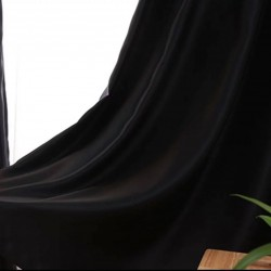 ΤΑΦΤΑ ΜΑΥΡΟ - ΚΟΥΡΤΙΝΑ ΣΑΤΕΝ ΠΛΗΡΗΣ ΣΚΙΑΣΗΣ ΜΕ ΤΡΕΣΑ 280Χ300cm 575-16
