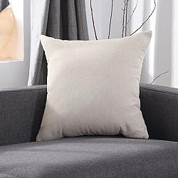 Monochrome light beige - Μαξιλαράκια καναπέ 45x45 με γέμιση