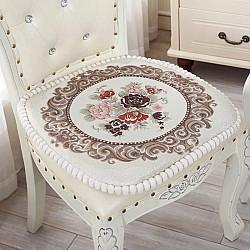 Vintage Μπεζ - Μαξιλαράκι καρέκλας 45Χ45 VBE-800