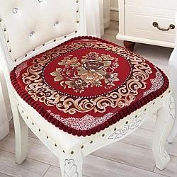 Vintage Μπορντό - Μαξιλαράκι καρέκλας 45Χ45 VBO-800