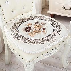 Vintage Εκρού - Μαξιλαράκι καρέκλας 45Χ45 VEC-800