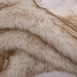 Angel Beige White - Πατάκι γούνας 060Χ150cm 937-14
