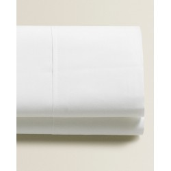 Monochrome - Σετ σεντόνια λευκά υπέρδιπλα 180Χ200+25 με λάστιχο 100% οργανικό βαμβάκι 017180